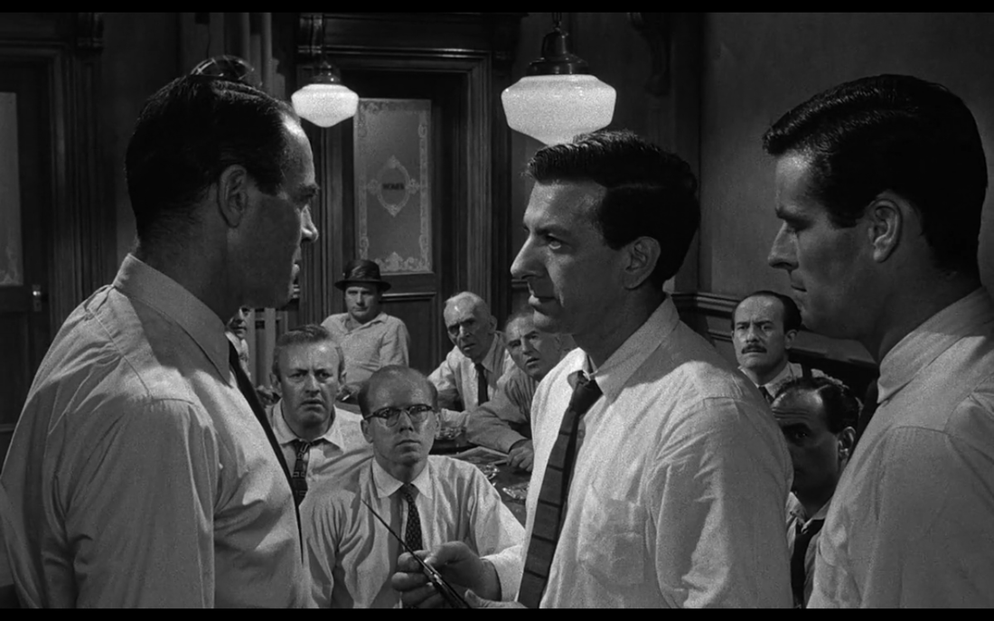 """12 angry men paper 2016-5-14 """"if there's a reasonable doubt in your minds as to the guilt of the accused, a reasonable doubt, then you must bring me a verdict of not guiltyhowever you decide, your verdict must be unanimous"""" the movie, the twelve angry men, was a fascinating movie surprisingly, it was very interesting."""